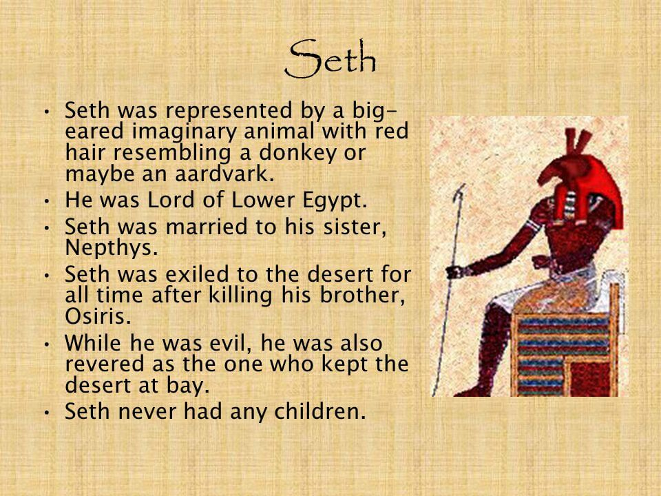 Seth, The Lord of the Desert - Armageddon Broadcast Network