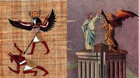 Seth versus Horus & Christ versus Satan